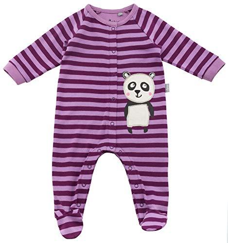 Sigikid Baby-Mädchen Overall, Schlafstrampler, Violett (Violett (Dark Purple 218) 218), 56