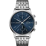 Lacoste Men's Analogue Quartz Watch with Stainless Steel Strap 2011067