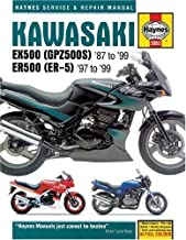 Kawasaki EX500 (GPZ500S) 1987 - 99 and ER500 (ER-5) 1987-99 Haynes Service and Repair Manual 2nd (second) Revised Edition by Ahlstrand, Alan, Haynes, J. H. published by Haynes Manuals Inc (1993)