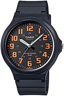Casio Men's Dial Resin Band Watch - MW-240-4B