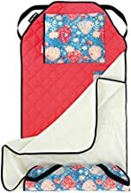 Urban Infant Tot Cot All-in-One Modern Preschool/Daycare Nap Mat with Washable Pillow and Elastic Corner Straps | 52 x 22 Inches - Balloons
