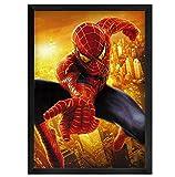 asfrata265 Toile Murale Art HD Marvel Super Hero Spiderman Superman Affiche Et Impression Toile Peinture Décor À La Maison Murale No Frame G122 (40X60 Cm)