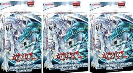 5Star-TD YuGiOh 3X Saga of Blue-Eyes White Dragon Structure Deck