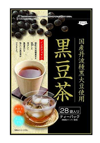 京都茶農業協同組合 国産丹波種黒大豆使用 黒豆茶ティーパック 28p ×4個 ティーバッグ