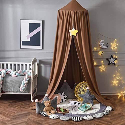 Baby Canopy Mosquito Niños Decoración de la habitación Cuna Red de Bebé Tienda Colgado Cúpula Bebé Mosquitera Fotografía Props