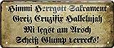 Blechschilder Lustige Bayern Sprüche bayerisch Deko Humor