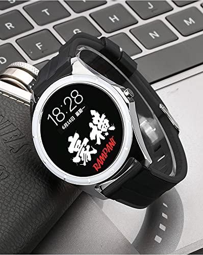 Zwbfu T20 Multifunción Sports Sports Watch Pulsera Ratio cardíaco Blood Oxygen Bluetooth Reloj(Negro)