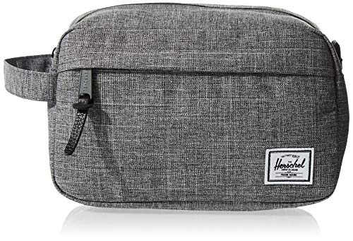 Herschel Chapter Toiletry Kit, Raven Crosshatch, Carry-On 3L