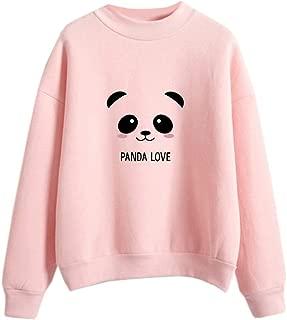 Fashionable Styles Pastel Sweatshirts Women Harajuku Cartoon Candy Color Long Sleeve Casual