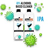 Best Bong Cleaners - BONG BAE 16oz Bong Cleaner Solution 2 Pack Review