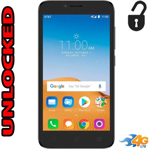 Alcatel Tetra 4G LTE Unlocked 5041C 5 inch 16GB Usa Latin & Caribbean Bands Android Oreo 8.1