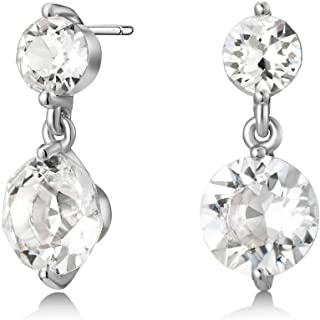Mestige Women Glass Natalie Earrings with Swarovski Crystals