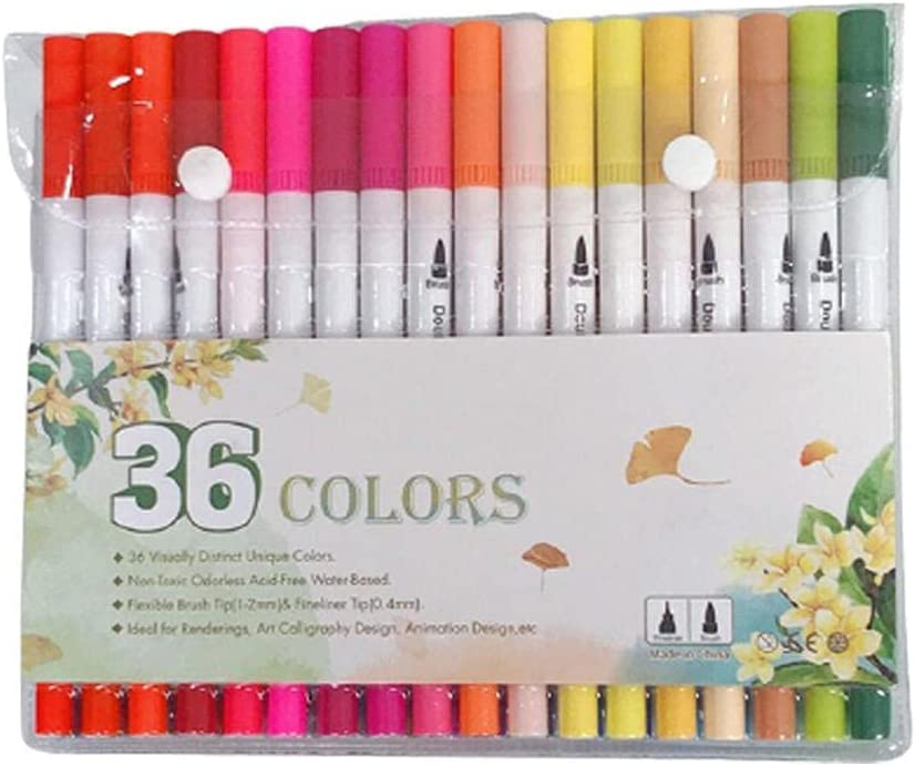 Direct stock discount Professional Double Headed OFFicial Watercolor Watercolo Set Markers Pens