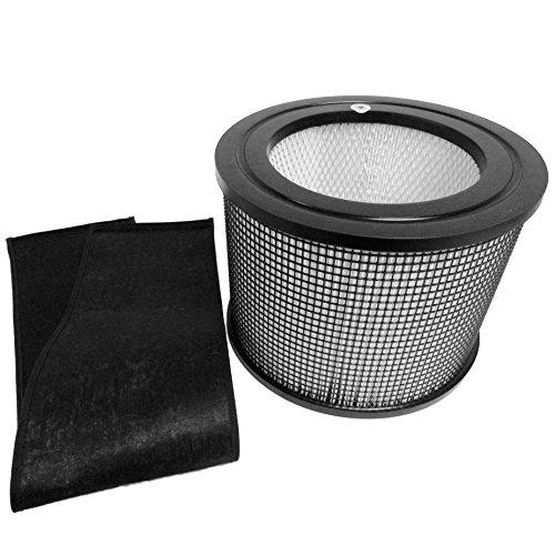 Preisvergleich Produktbild Filter Queen Defender 4000 7500 360 HEPA Plus Ersatz Filter mit Carbon Wrap