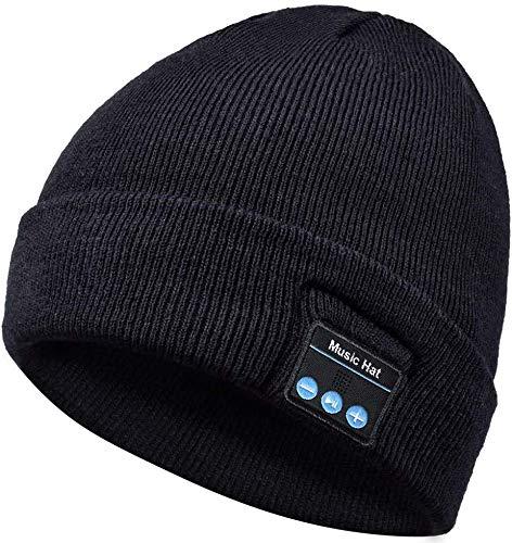 REUUY Sombrero Bluetooth Gorro Bluetooth Sombrero para Correr con música Bluetooth 5.0...
