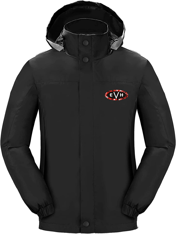 Black Jacket Men's Thin Coats Windproof Rainproof Women Outdoor Work Outerwear
