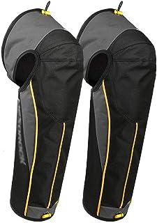 WZHZJ Motorcycle Knee Pads Motorcycle Adjustable Strap Windproof Winter Warmer Knee Protector Motorbike Motocross Kneepad