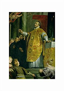 Magnolia Box The Vision of St. Ignatius of Loyola Detail of The Saint fine Art Print, 50x70cm, 50 x 70 cm