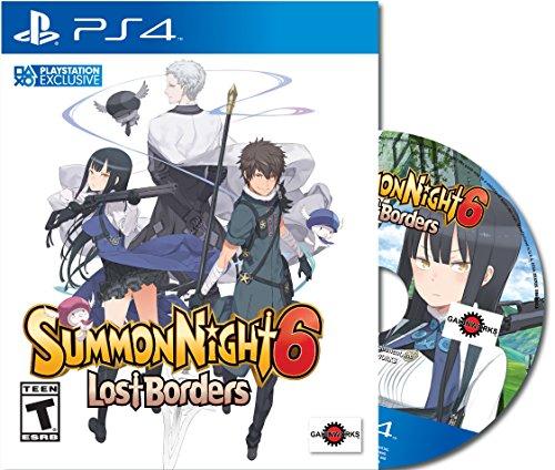 Summon Night 6: Lost Borders - PlayStation 4 Amu Edition (New)