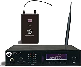 Nady PEM-1000 Wireless In-Ear Monitoring System With 100 Selectable UHF Channels And Auto Scan