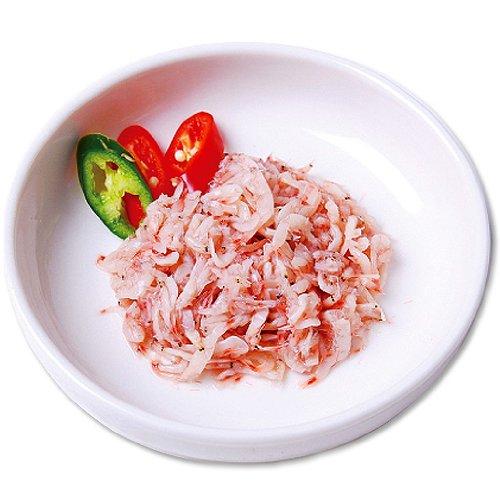 [Amazon限定ブランド] 韓美食【★クール便】あみの塩辛 500g (自家製) 冷蔵商品