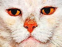大人のジグソーパズル3000ピース大ジグソーパズル動物猫顔挑戦ゲームおもちゃギフト子供十代の家族ジグソー