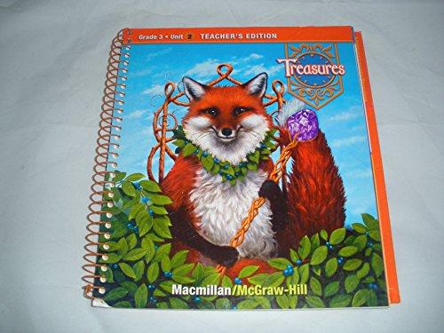 Treasures Teachers Edition Book: Grade 3, Unit 3 (Treasures: A Reading/Language Arts Program)