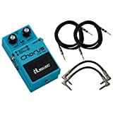 Boss CE-2W Chorus Pedal WAZA CRAFT w/ 4 Cables