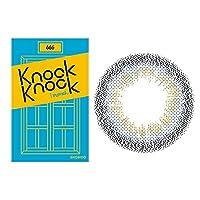 [2箱]ノックノックワンマンス マンスリー 1箱2枚入 [カラー:666/度数:-4.00]カラコン 度あり 度なし Knock Knock 1month DIA14.0mm BC8.6mm