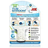 TubShroom The Revolutionary Tub Drain Protector Hair Catcher/Strainer/Snare, White...