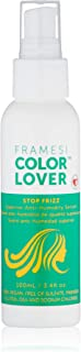 Framesi Color Lover Stop Frizz - 3.4 Ounce, Color Safe Framesi Stop Frizz Hair Products Anti-Humidity Serum and Split End Repair, Gluten Free