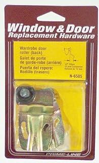 Prime-line Products N 6505Closet Porte rouleau Offset, dos, 1/5,1cm, 7/20,3cm Roue en nylon, (lot de 2)