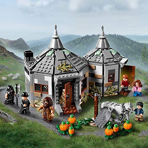 LEGO Harry Potter 75947 Hagrid's Hut: Buckbeak's Rescue Playset with Hippogriff Figure, Harry Potter Gift Ideas