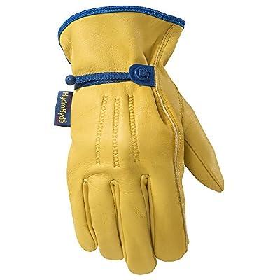 Men's HydraHyde Adjustable Leather Work Gloves (Wells Lamont 1164)