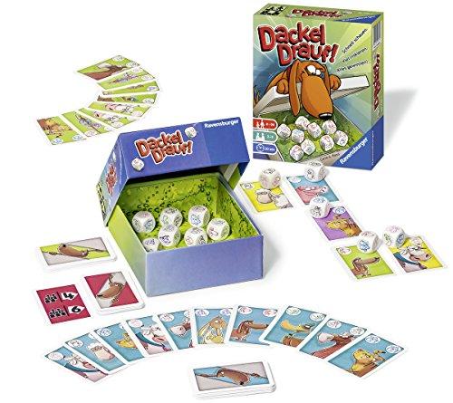 Ravensburger Kartenspiele 26774 - Dackel drauf!