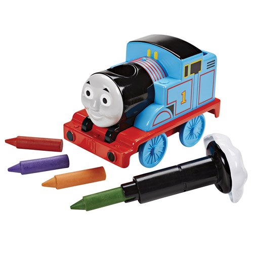 Thomas & Friends Toy Train for Toddlers with Crayons That Work in The Bath
