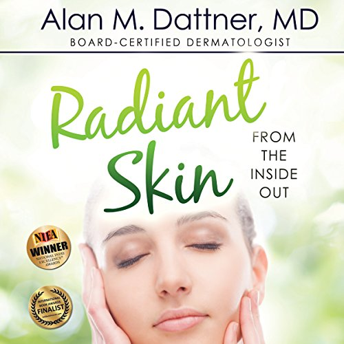 Radiant Skin from the Inside Out     The Holistic Dermatologist's Guide to Healing Your Skin Naturally              By:                                                                                                                                 Alan M. Dattner                               Narrated by:                                                                                                                                 Seumus Michael Maley                      Length: 10 hrs and 12 mins     5 ratings     Overall 3.4