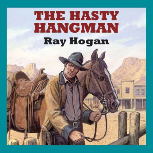 The Hasty Hangman audiobook cover art