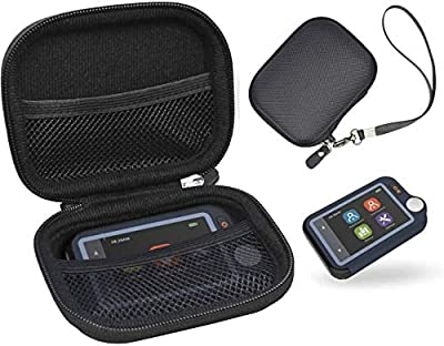 CaseSack Carrying case for Wellue Heart Monitor, Personal Bluetooth Heart Health Tracker, Strong Compact Light Weight case with mesh Pocket for Pills and Other Essentials, Elite Detachable Wrist