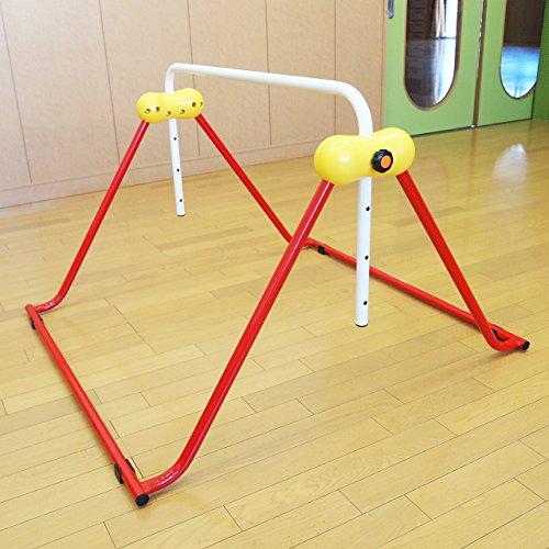 鉄棒 子ども用 室内鉄棒 耐荷重70kg 組立不要 ツムラこども鉄棒 逆上がりコツDVD付 高さ70cmから