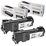 LD Compatible Toner Cartridge Replacement for Dell 330-1436 T106C High Yield (Black, 2-Pack)
