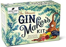 Sandy Leaf Farm Ultimate Gin Maker's Kit - Make ten big bottles of your own gin - Flavours including classic citrus,...