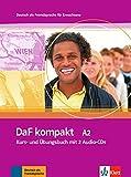 DaF Kompakt - Nivel A2 - Libro del alumno + Cuaderno de ejercicios + CD: Kurs- und Ubungsbuch A2 mit 2 Audio-CDs