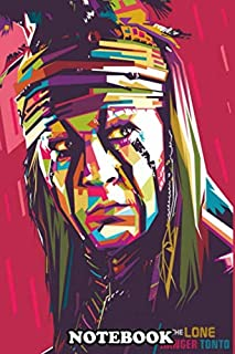 Notebook: Johnny Depp Wpap Colorful Modern Pop Art Design , Journal for Writing, College Ruled Size 6