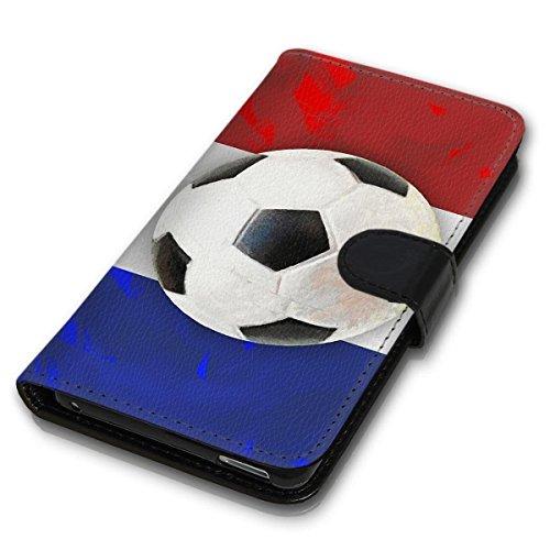 wicostar Book Style Handy Tasche - Design MVB-219 - kompatibel mit HTC One M8 / M8S - Cover Case Schutz Hülle Etui Schutzhülle