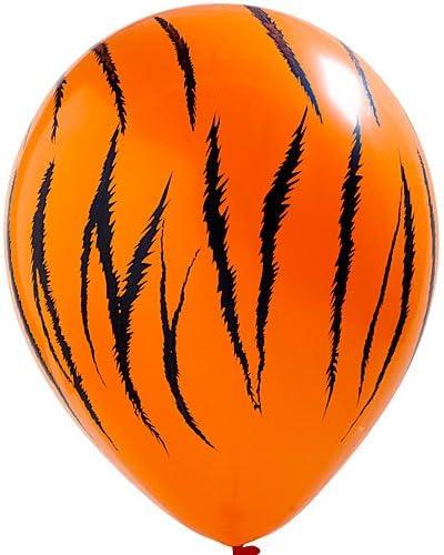 Wild Jungle Safari Tiger Print Balloons Party Supplies Decoratio