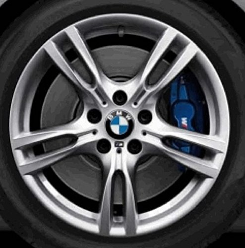 Original BMW Alufelge 3er F30-F31 M Sternspeiche 400 in 18 Zoll