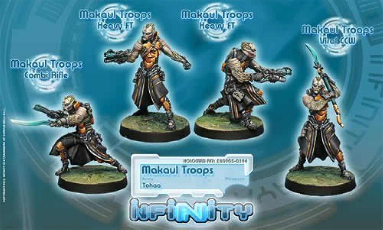 están haciendo actividades de descuento Makaul Troops (4) Tohaa Infinity Corvus Belli Belli Belli by Corvus Belli  más orden
