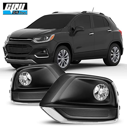 CPW OEM Style for [2017 2018 2019 2020 Chevrolet Trax] Driving Fog Lights + Switch + Wiring Kit