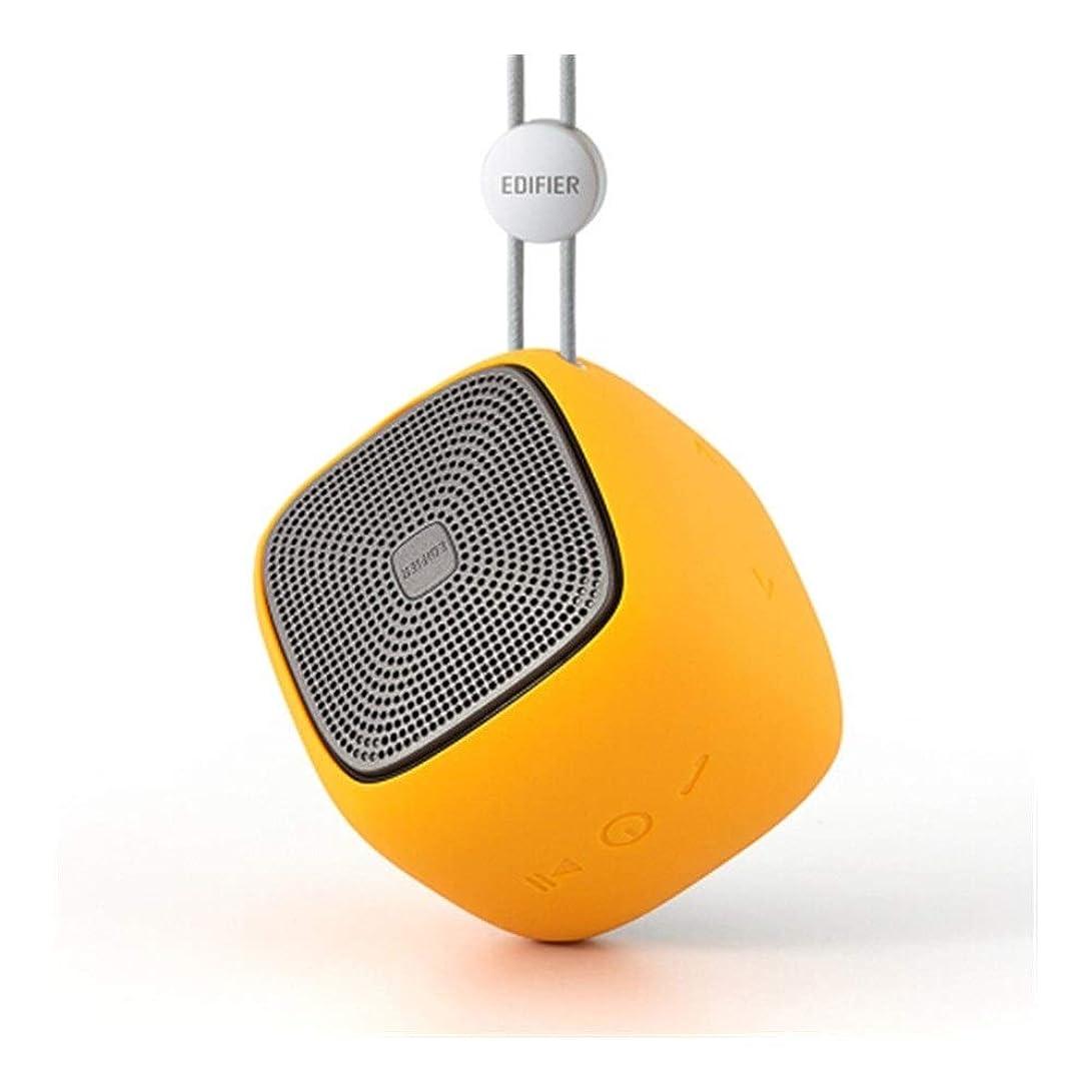 スチュワーデス前方へ方法論KALMAR Bluetoothのポータブルスピーカー、ステレオ、屋外オーディオ、ミニステレオ、音楽太郎 (Color : Yellow)